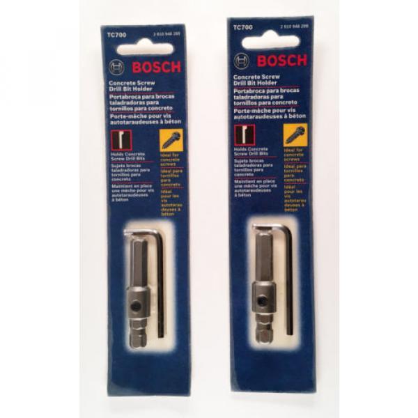 Bosch TC700 Masonry Screw Drill Bit Holder, Lot of 2 #1 image
