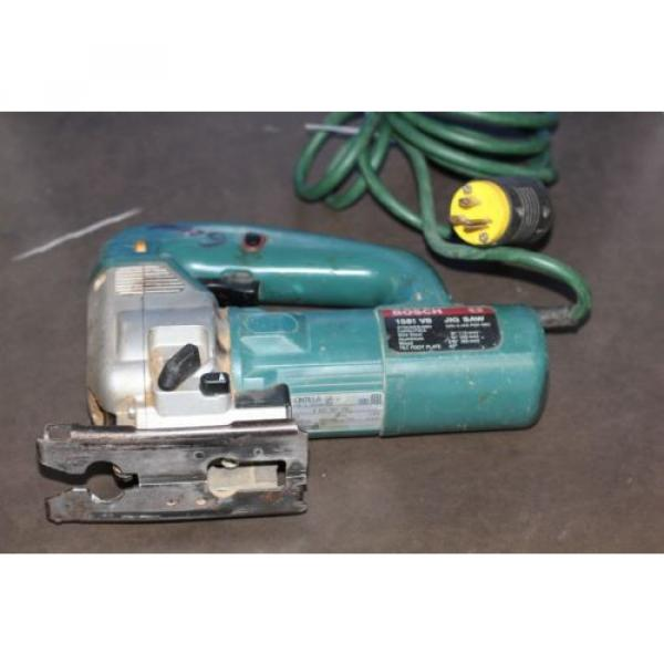 BOSCH 1581 VS 4.8 AMP VARIABLE SPEED JIG SAW #3 image