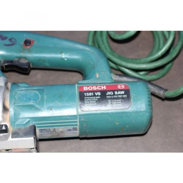 BOSCH 1581 VS 4.8 AMP VARIABLE SPEED JIG SAW #7 image