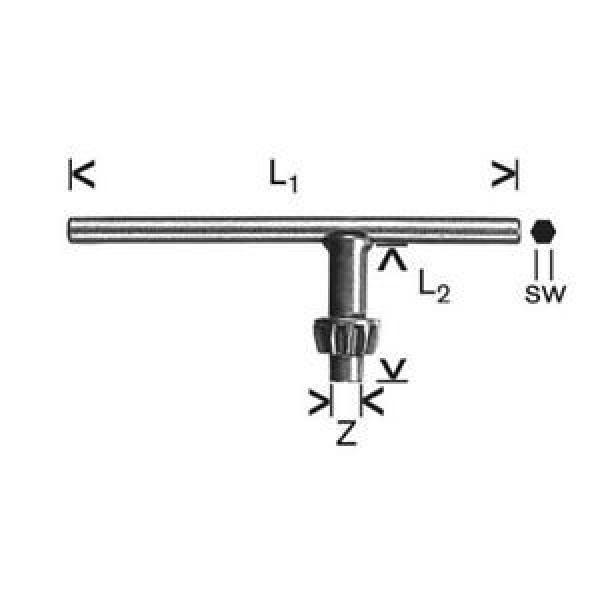 Bosch 1607950041 - Chiave di ricambio per mandrino a cremagliera, 16 mm #1 image