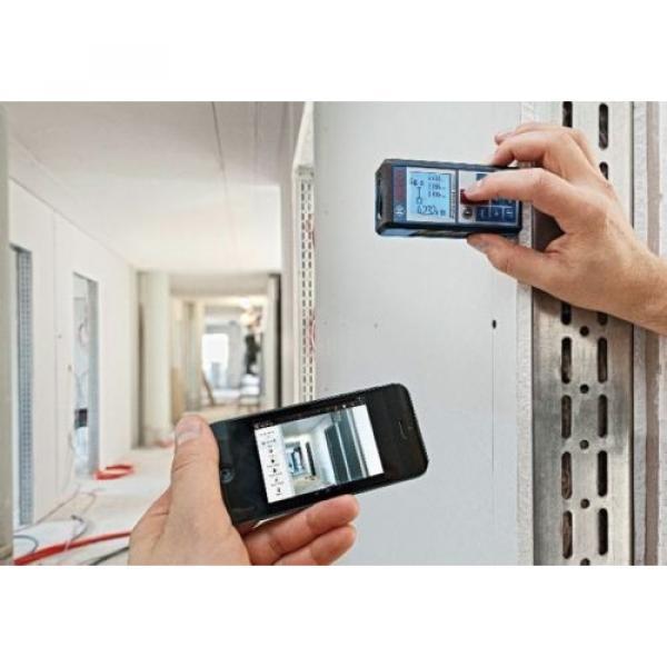 Bosch GLM100C Professional Laser Distance  Direct Digital Transfer Measure #3 image