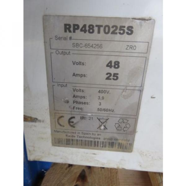 Forklift Battery Charging/Changing Station 24v 36v 48v BT Rolatruc Toyota Linde #7 image