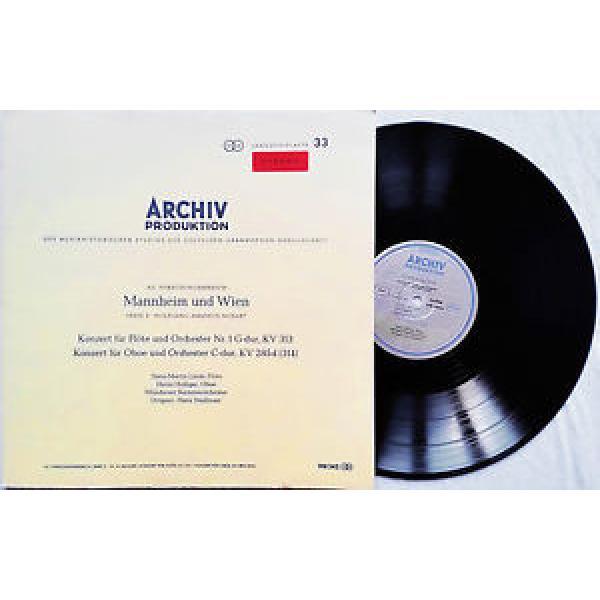 Hans-Martin Linde, Holliger: Mozart - Flute & Oboe Concertos / Archiv red stereo #1 image