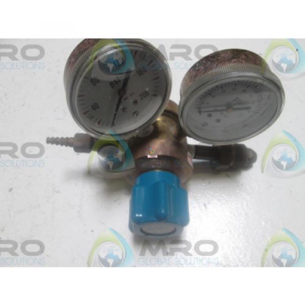 LINDE UPE-3-150-580 GAS REGULATOR *USED* #1 image