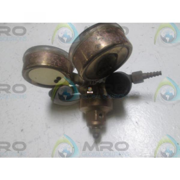 LINDE UPE-3-150-580 GAS REGULATOR *USED* #2 image