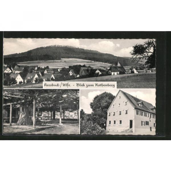 alte AK Kersbach, Gasthaus zur Linde, Blick zum Rothenberg #1 image