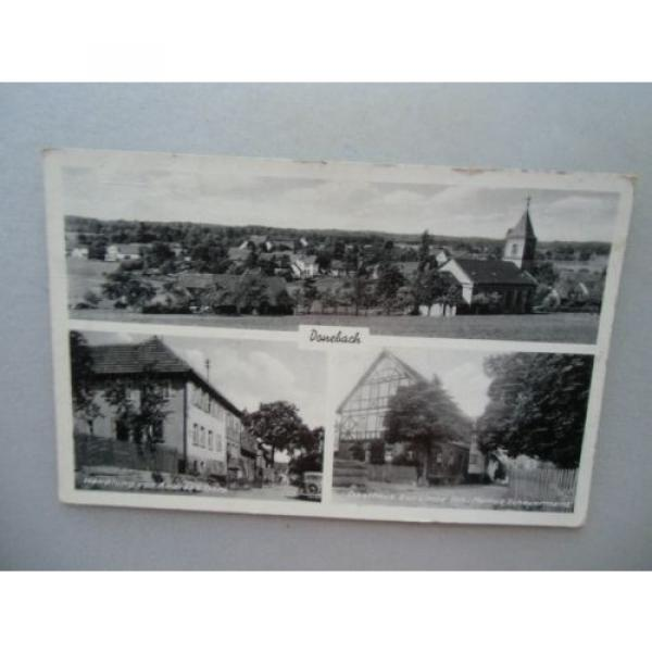 Ansichtskarte Donebach 20/30er?? Total Handlung Andreas Götz Gasthaus zur Linde #1 image