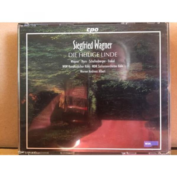 Siegfried Wagner, Die Heilige Linde 3 CD Fat Box Set, Koln, Albert #1 image