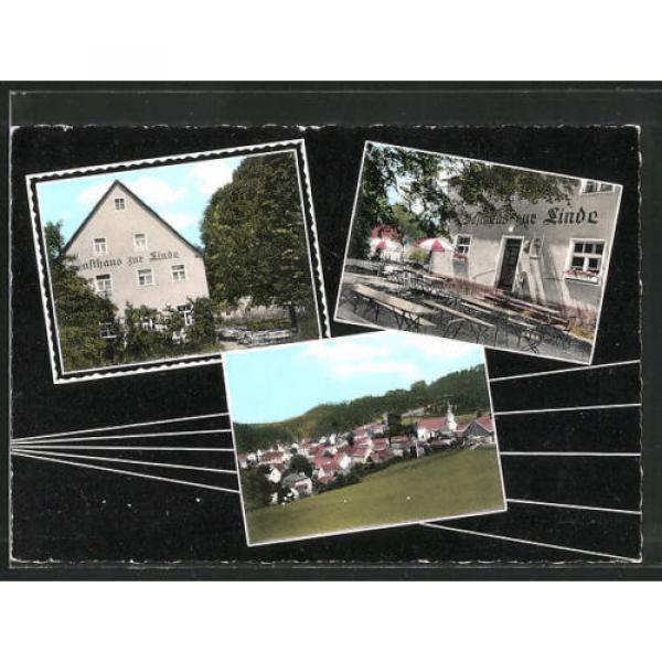 tolle AK Obertrubach, Gasthaus zur Linde #1 image
