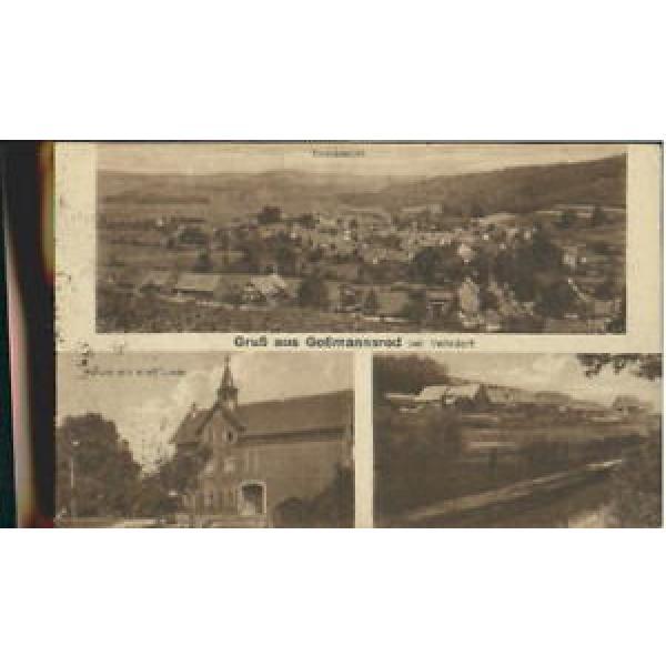 40162361 Gossmannsrod Schule Alte Linde x 1923 Veilsdorf #1 image