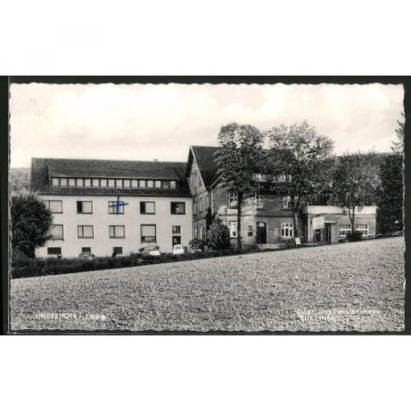 alte AK Linderhofe, Gast- und Pensionshaus Zur Linde 1961 #1 image