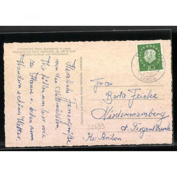 alte AK Linderhofe, Gast- und Pensionshaus Zur Linde 1961 #2 image