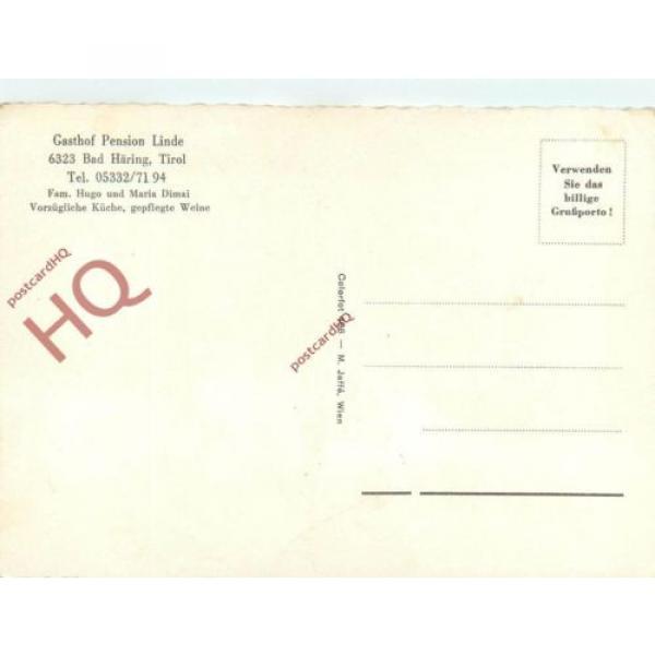 Postcard- Bad Haring, Gasthof Pension Linde #2 image