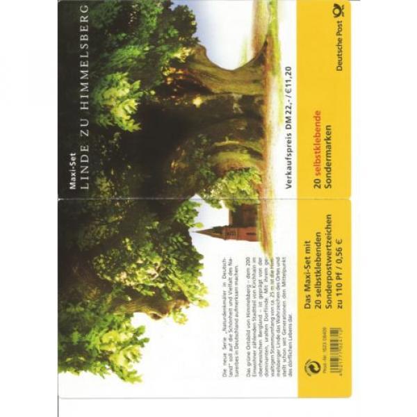 Briefmarken Markenheftchen Linde zu Himmelsberg #1 image