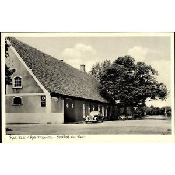 Ak Bad Laer in Niedersachsen, Straßenpartie am Gasthof zur Linde - 1135887 #1 image