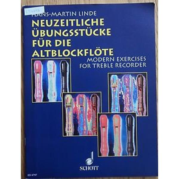 Neuzeitliche Übungsstücke für Altblockflöte von Hans Martin Linde #1 image