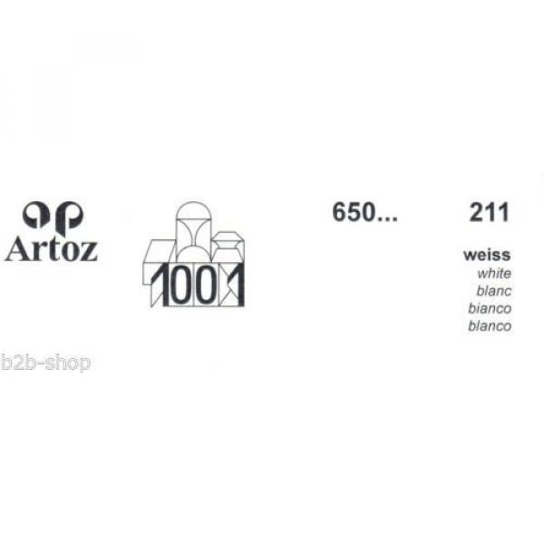 Artoz 1001- 20 Stück Einzelkarten DIN A7 103x66 mm - Frei Haus #3 image