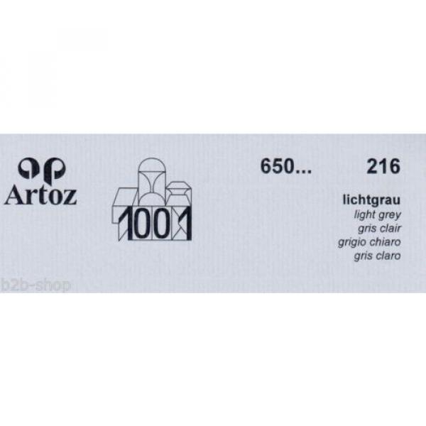 Artoz 1001- 20 Stück Einzelkarten DIN A7 103x66 mm - Frei Haus #5 image