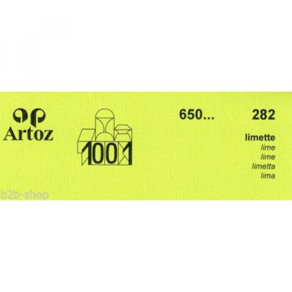 Artoz 1001- 20 Stück Einzelkarten DIN A7 103x66 mm - Frei Haus #17 image