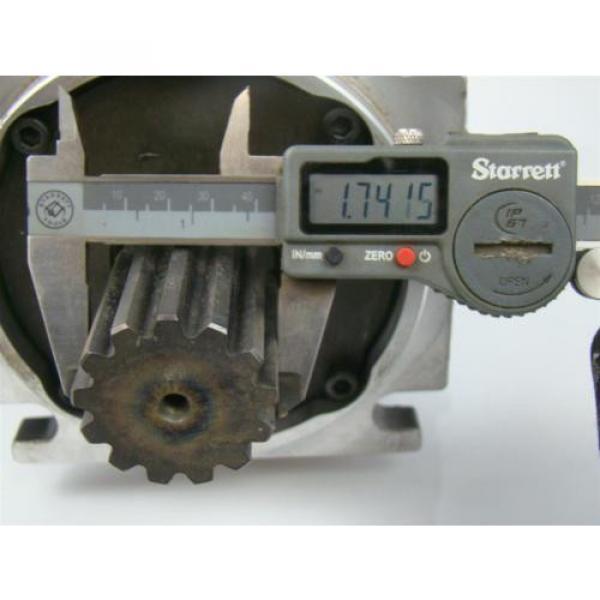 SAUER DANFOSS AXIAL PISTON HYDRAULIC MOTOR 1.74 SHAFT 90M100NC0N8N0F1 #7 image