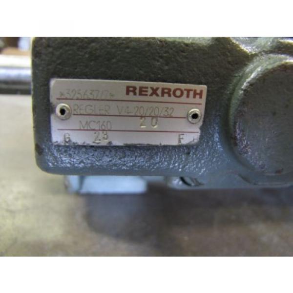 REXROTH Italy Russia 1PV2V3-31/63RG01MC100A1 1PV2V4-20/32RE01MC0-16A1 VANE HYDRAULIC PUMP #2 image