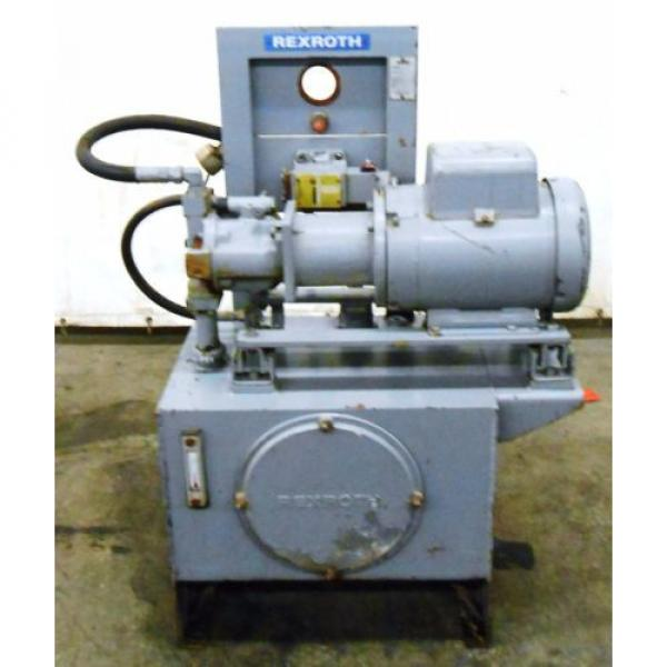 REXROTH Greece Mexico AA10VS028DFLR/30R-PKC63N00 HYDRAULIC POWER UNIT, 5 HP, 20 GAL. 1800 RPM #1 image
