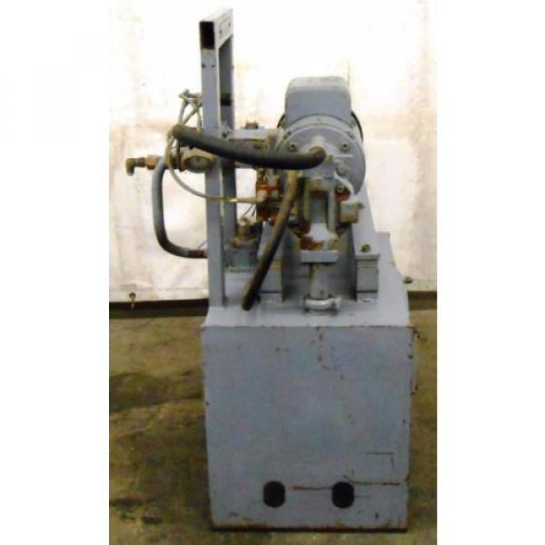 REXROTH Greece Mexico AA10VS028DFLR/30R-PKC63N00 HYDRAULIC POWER UNIT, 5 HP, 20 GAL. 1800 RPM #5 image