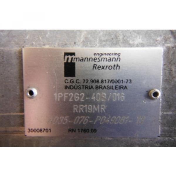 REXROTH France Dutch   IPF2G2-40B/016 RRISMR HYDRAULIC PUMP  USED #2 image