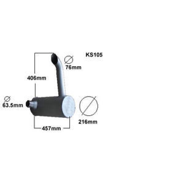 KOMATSU PC60 EXCAVATOR/DIGGER ADVANCE  EXHAUST SILENCER BRAND NEW #1 image