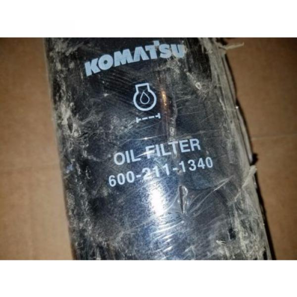 NOS Genuine Komatsu 600-211-1340 6002111340 Lube Filter BD7355 LF9018 #2 image