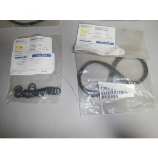 New Genuine Komatsu O Ring Set 07002-11423 07000-12135 07000-15155 OEM *NOS* #2 image