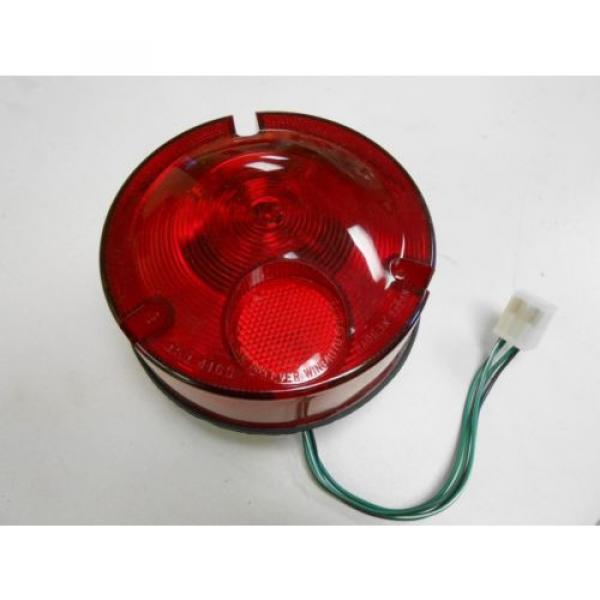 385-10051701 KOMATSU 24V LIGHT LAMP ASSEMBLY RED #1 image