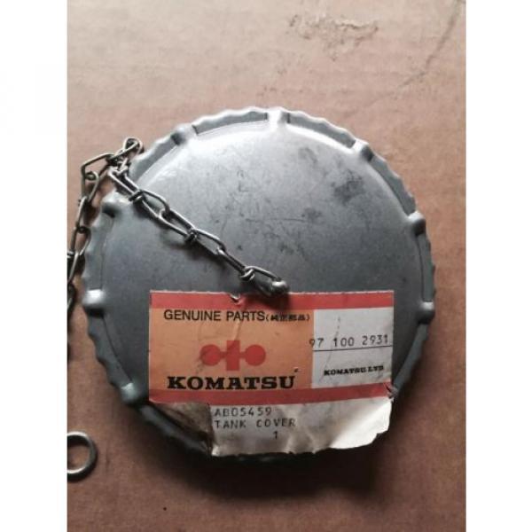 Komatsu Fuel Cap Part #AB 5459/ 97 100 2931 #1 image