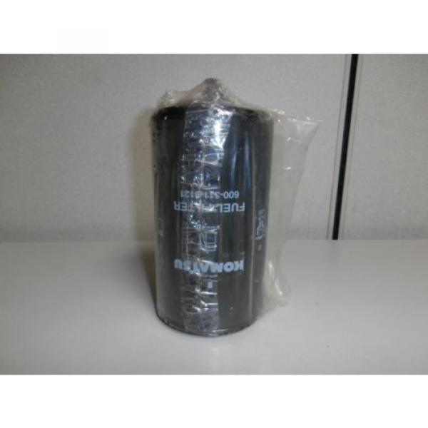 New Genuine Komatsu 600-311-9121 Fuel Filter Element *NOS* #1 image