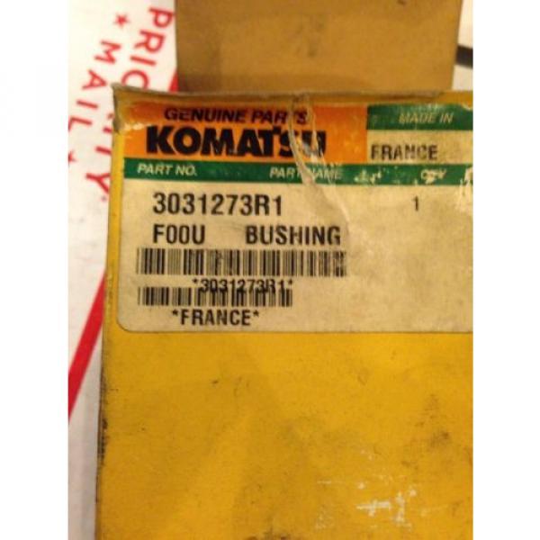 New OEM Komatsu Excavator Genuine Parts Bushing 3031273R1 Fast Shipping! #3 image