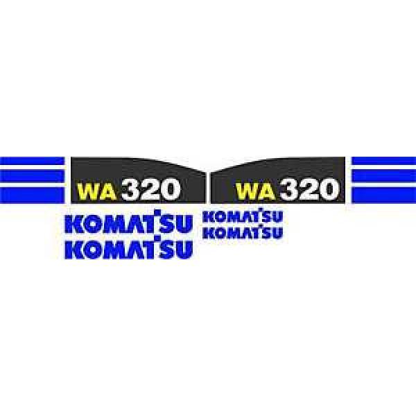 Komatsu WA320 Wheel Loader - Decal Graphics Kit #1 image