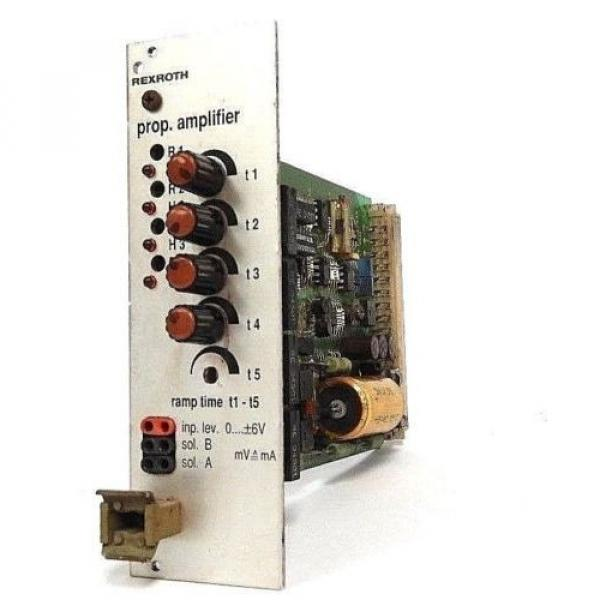 BOSCH Italy Italy REXROTH VT3000S3X PROP. AMPLIFIER CONTROL BOARD W/ ZP1S3X #1 image