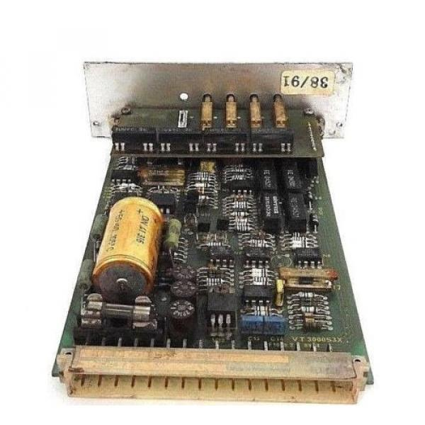 BOSCH Italy Italy REXROTH VT3000S3X PROP. AMPLIFIER CONTROL BOARD W/ ZP1S3X #3 image