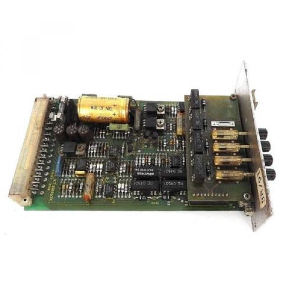 BOSCH Italy Italy REXROTH VT3000S3X PROP. AMPLIFIER CONTROL BOARD W/ ZP1S3X #5 image