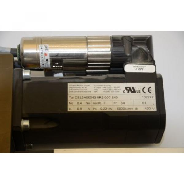 Rexroth France Italy R005516519 Linear Actuator, Danaher Motion DBL2H00040-0R2-000-S40 Motor #4 image