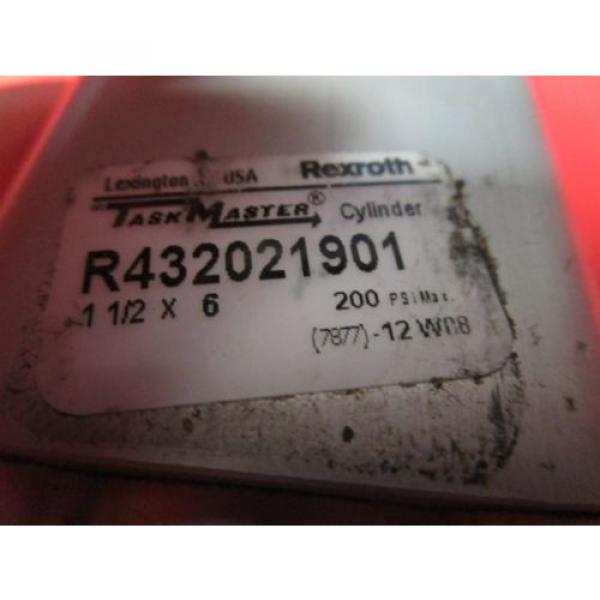 "Rexroth Italy Australia 1-1/2x6 Task Master Cylinder, R432021901, 1-1/2"" Bore, 6"" Stroke, 200PSI #2 image"