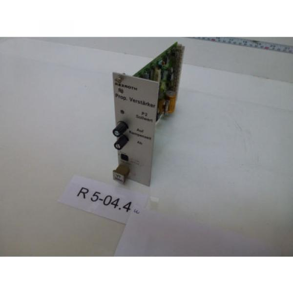 Rexroth Japan Italy VT 2000 S48/2 Prop. Verstärker free delivery #1 image