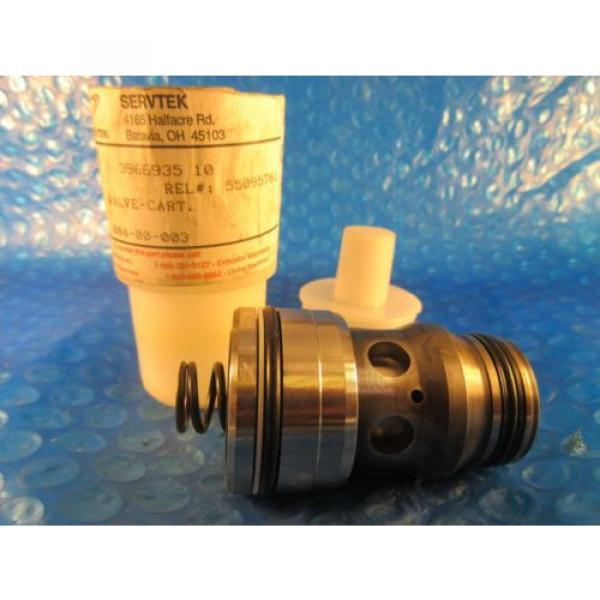 Servtek Canada USA 3966935 10 Valve Cartridge, 5509761, Rexroth LC25DB20D7xR900912552 #1 image