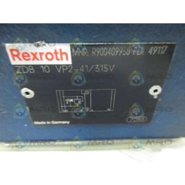 REXROTH Canada china R900409958 HYDRAULIC VALVE *NEW NO BOX* #4 image