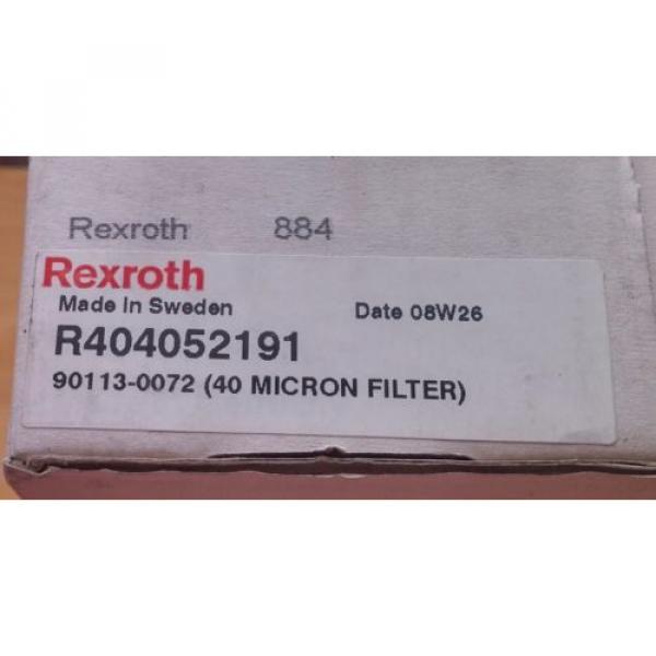 NEW! Italy Italy REXROTH Filter regulator  R404052191 0821300355 Tetra 90113-0072 #3 image