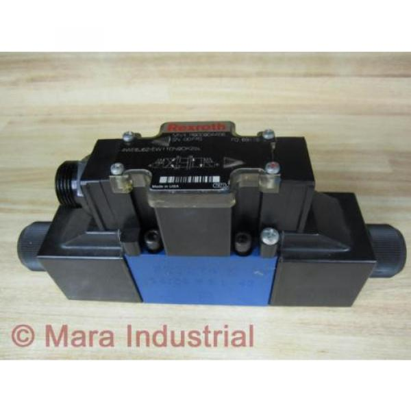 Rexroth Australia Canada Bosch R900904406 Valve 4WE6J62/EW110N9DK25L - New No Box #1 image