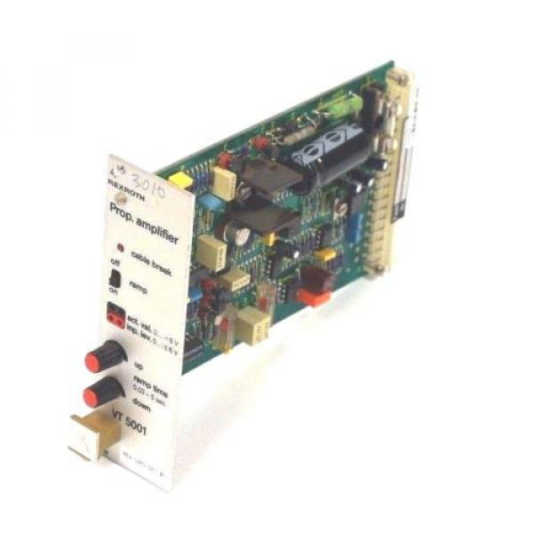 REXROTH Italy Canada VT-5001S20-R5 AMPLIFIER CARD 108/1283, VT5001S20R5 REPAIRED #1 image