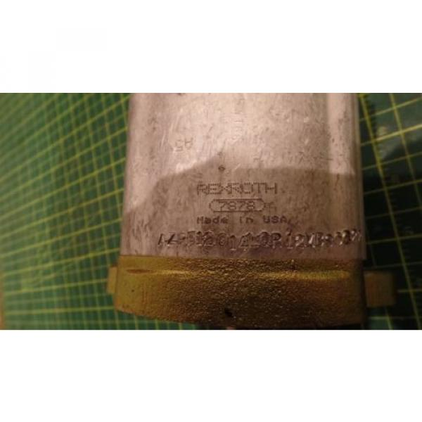 NEW Italy Mexico GENUINE REXROTH SPECIAL PURPOSE HYDRAULIC PUMP 7878, 550-245, 550245 #4 image