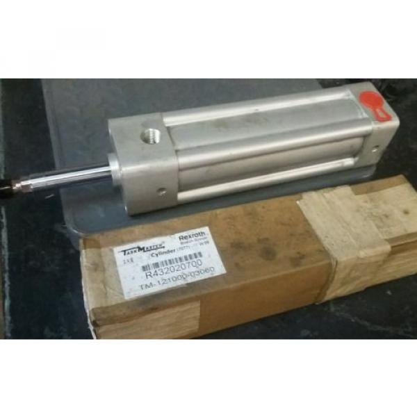 (2) Canada India NEW REXROTH TASKMASTER TM-121000-03060 PNEUMATIC AIR CYLINDER 2 X 6 #1 image
