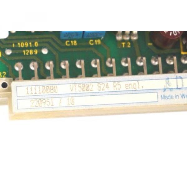 NEW France Australia REXROTH VT-5002-S24-R5 AMPLIFIER CARD VT5002S24R5 #3 image